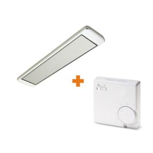 Алмак ИК-11 Белый + терморегулятор Eberle RTR-E 3563