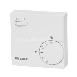 Механический терморегулятор Eberle 6163 с клавишей вкл/выкл